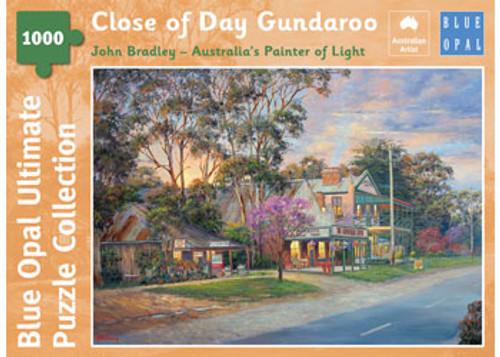 Blue Opal - Bradley Close of Day Gundaroo Puzzle 1000 pce