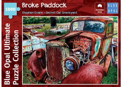 Blue Opal - Evans Cars Broke Paddock Puzzle 1000 pce