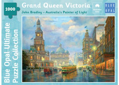 Blup Opal - Bradley Grand Queen Victoria Puzzle 1000 pce