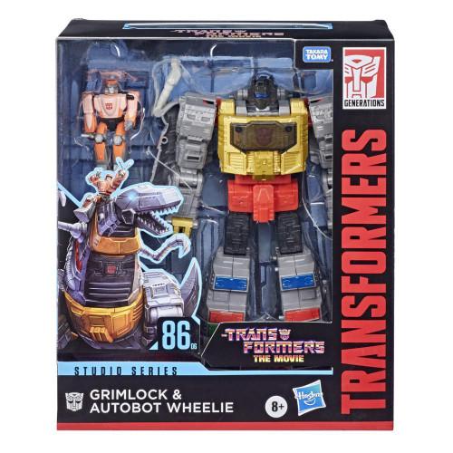 Transformers Gen Studio Leader - Grimlock & Autobot Wheelie