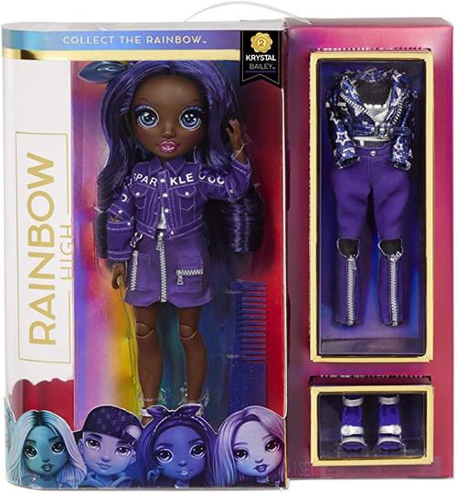 Rainbow High Fashion Doll Krystal Bailey