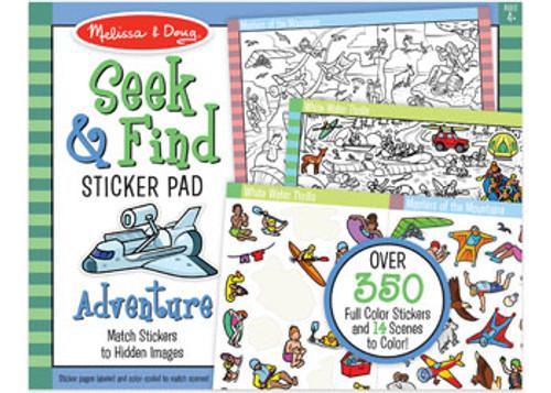 Melissa & Doug Seek & Find Sticker Pad Adventure