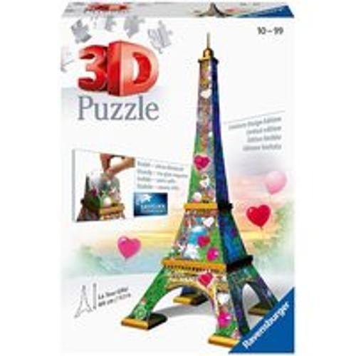 Ravensburger - La Tour Eiffel Love Edition 3D Puzzle 216 Pce