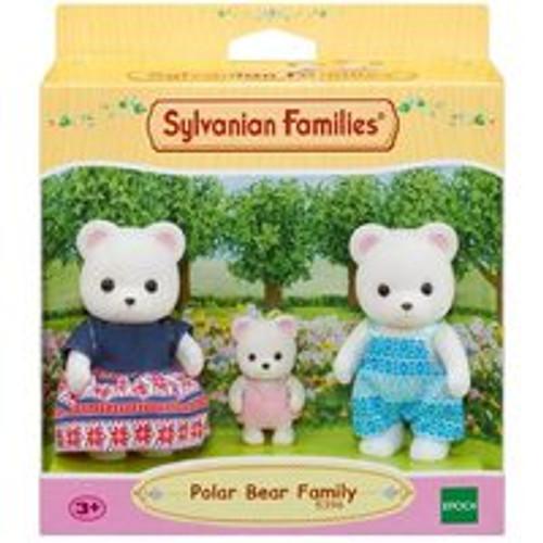 Sylvannian Families Polar Bear Family (3 Figure Pack)