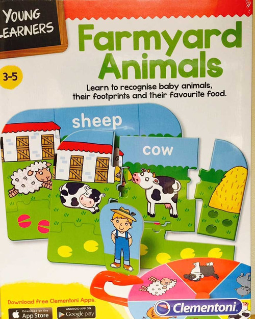 Young Learners Farmyard Animals