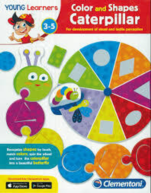 Young Learners Colour and Shapes Caterpillar