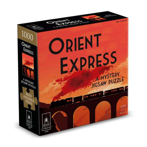 The Orient Express - A Mystery Jigsaw Puzzle 1000 Piece