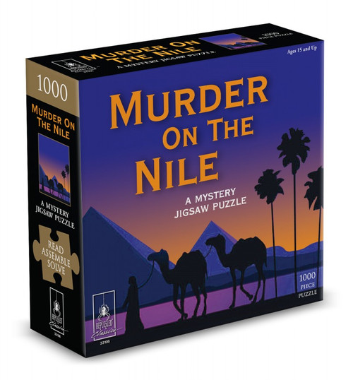 Murder on the Nile - A Mystery Jigsaw Puzzle 1000 Piece