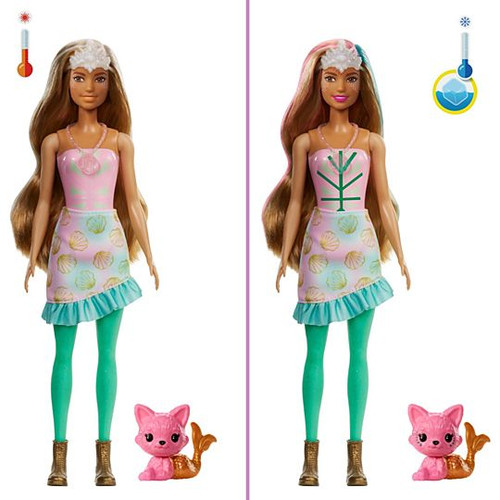 Barbie Colour Reveal Doll - Mermaid Fashion Reveal