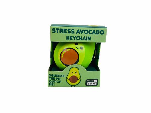 Stress Relief Keychain Avocado
