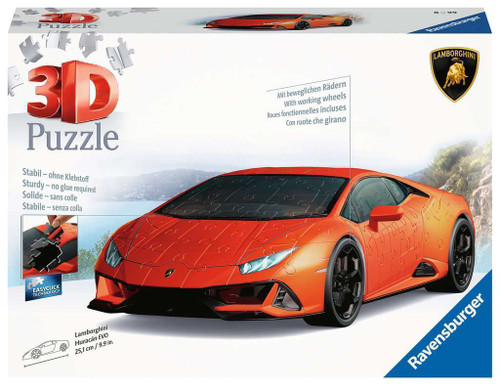 Ravensburger - Lamborghini Huracan EVO Puzzle 108 Pieces
