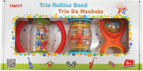 Halilit Trio Rattle Bank