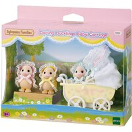 Sylvannian Families Darling Ducklings Baby Carriage