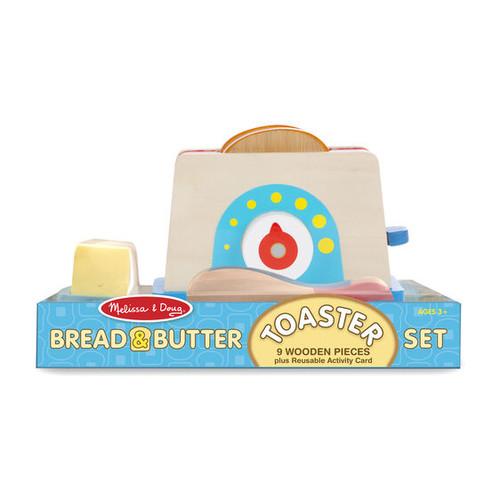 Melissa & Doug Toaster Bread & Butter Set