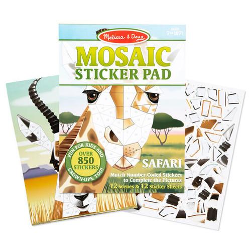 Melissa & Doug Mosaic Sticker Pad - Safari