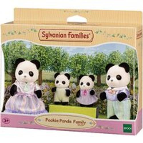Sylvanian Families Pookie Panda Family