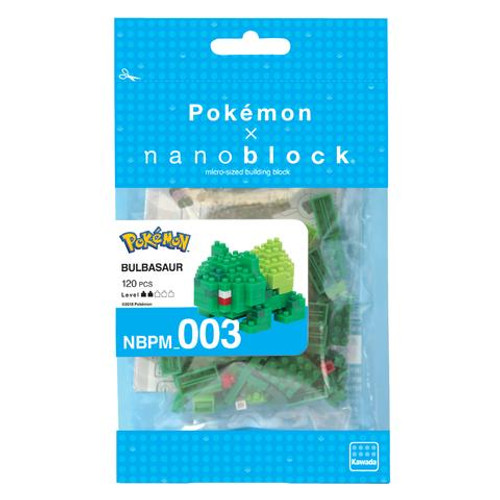 Nanonblock - Bulbasaur