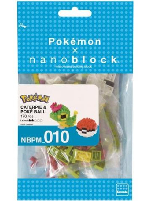 Nanonblock - Caterpie & Poke Ball