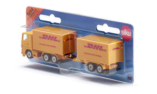 Siku DHL Truck with Trailer