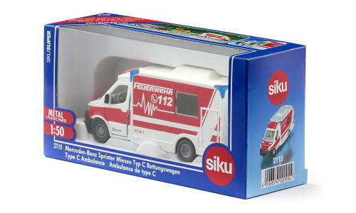 Siku Mercedes-Benz Sprinter Ambulance 1:50 Scale