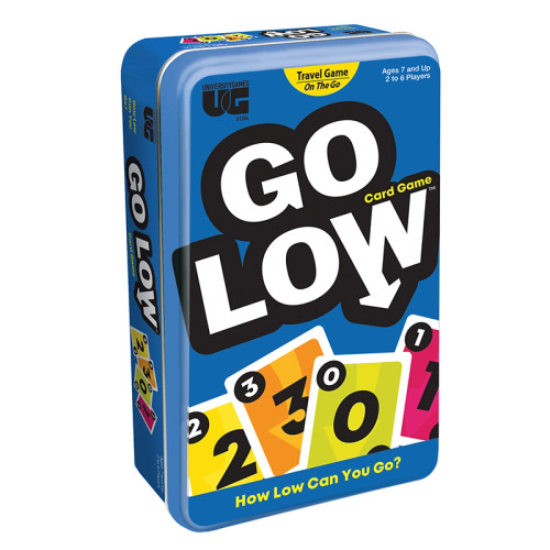 Go Low Card Game In A Tin