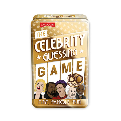 The Celebrity Guessing Game In A Tin