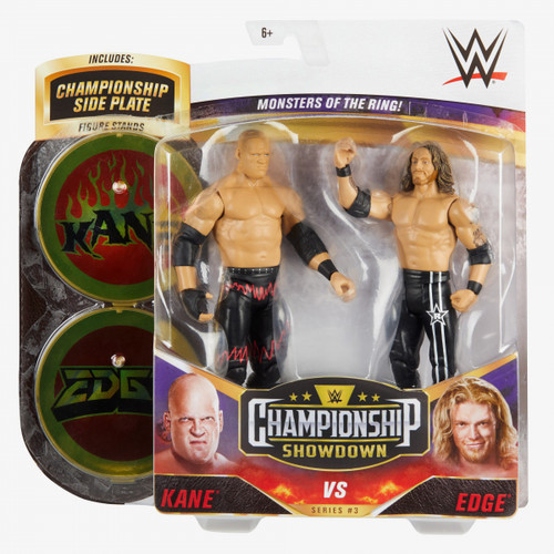 WWE Championship Showdown Kane Vs Edge