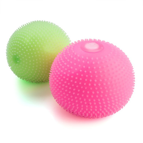 Jumbo Smooshos Spiky Ball Glow In The Dark