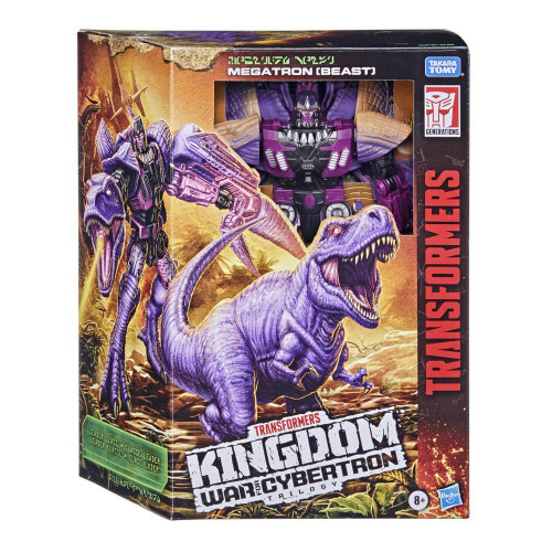 Transformers Generations WFC Kingdom - Megatron (Beast)