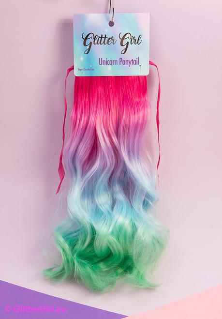 Glitter Girl - Unicorn Ponytail