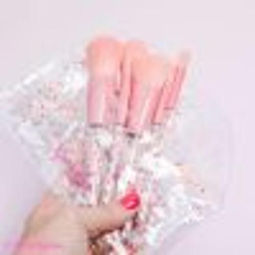Glitter Girl- The Original Unicorn Sprinkle MakeUp Brush Set