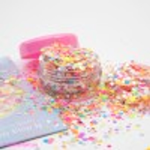 Glitter Girl Unicorn Glitter - Mardi Gras Pouch (5gram)