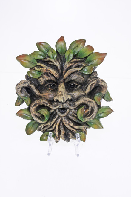 Treant Wall Plaque 17cm Wizard Red Hat