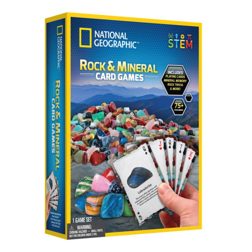 Rock & Mineral Card Games