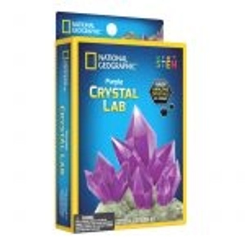 National Geographic Crystal Glow - Purple