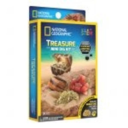 National Geographic Mini Dig Kit - Treasure