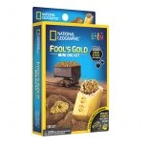 National Geographic Mini Dig Kit - Fools Gold