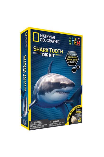 National Geographic Dig Kit - Shark Tooth NGSHARK