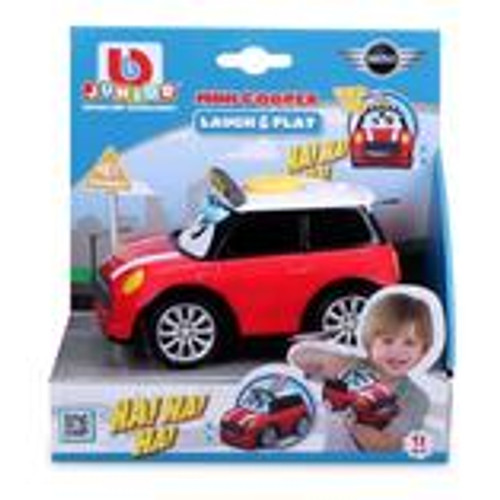 Bburago Junior Laugh & Play Mini Cooper S with Sound - Red