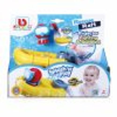 Bburago Splash N Play Spraying Rescue Raft with L&S