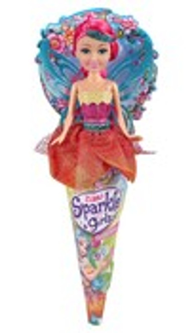 Sparkle Girlz 10.5 Inch Floral Fairy Cone Doll Series 2
