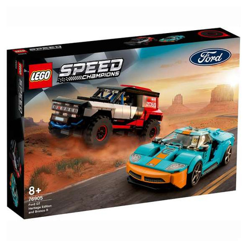 Lego Speed Champions - Ford GT Heritage Edition and Bronco R