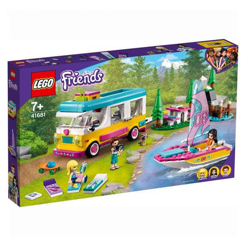 Lego Friends - Forest Camper Van and Sailboat