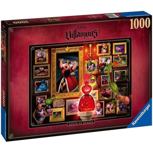 Ravensburger - Disney Villainous Queen of Hearts Puzzle 1000