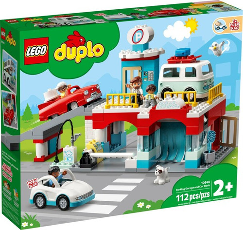 Lego Duplo - Parking Garage and Car Wash