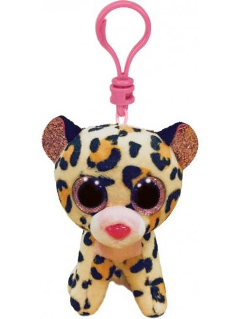 Beanie Boos Clip - Livvie Leopard