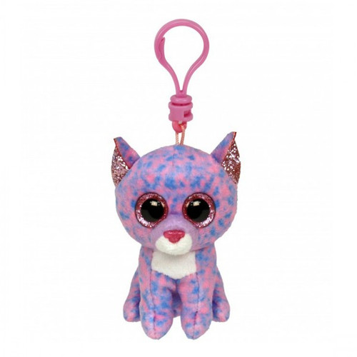 Beanie BoosClip - Cassidy Lavendar Cat