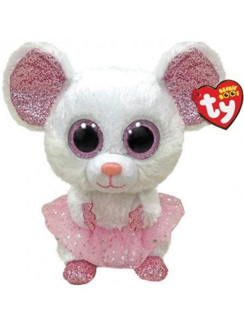 Beanie Boos Regular - Nina Mouse w/Tutu
