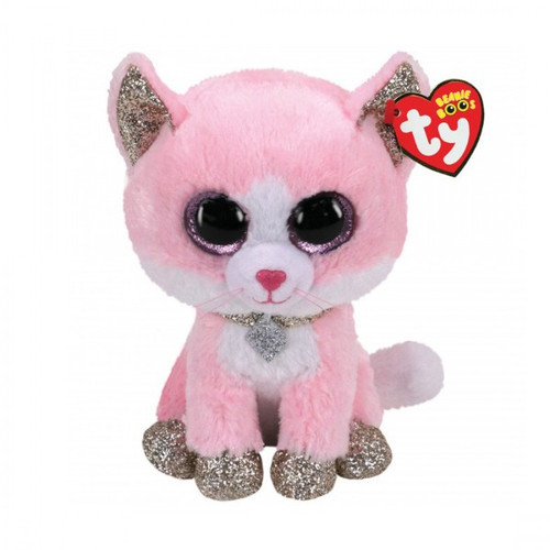 Beanie Boos Regular - Fiona Cat Pink