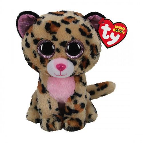 Beanie Boos Regular - Lacey Leopard Brown/Pink